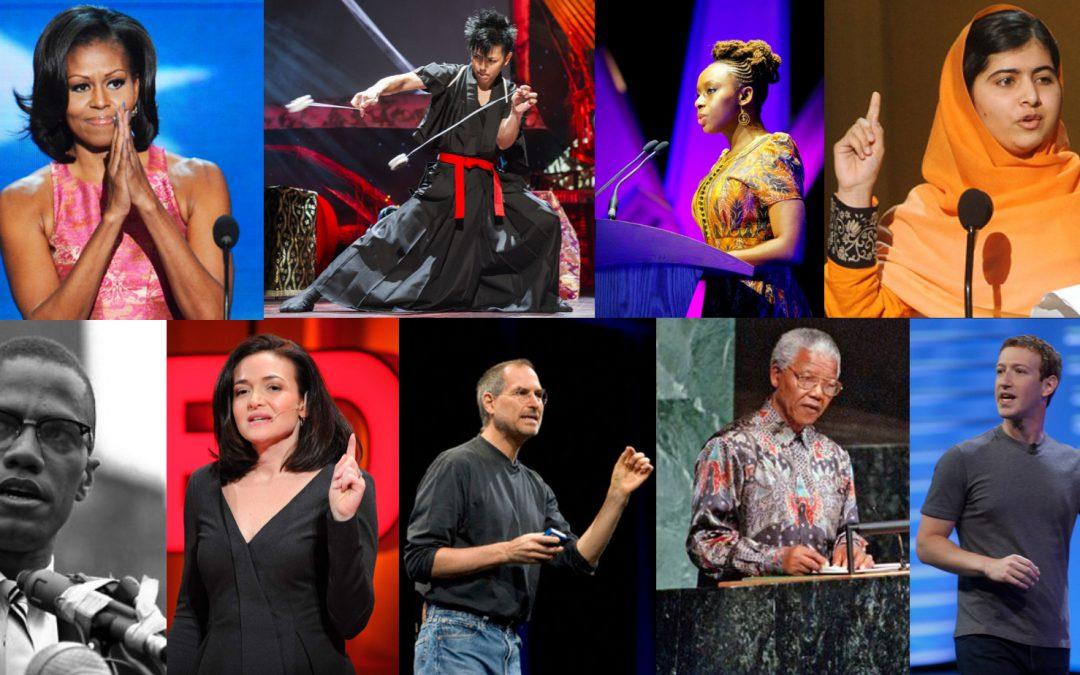 Wat draag je als spreker op het podium?